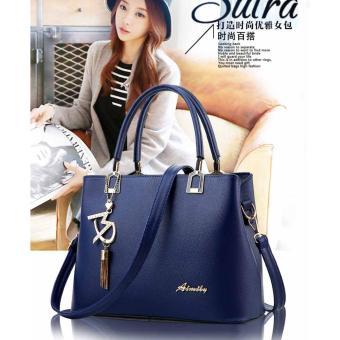 Túi xách thời trang nữ dễ thương TM032 (Xanh đen)