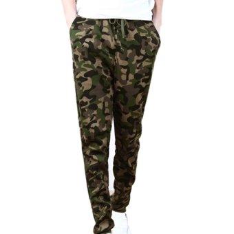 New Men Camo Casual Trousers - INTL