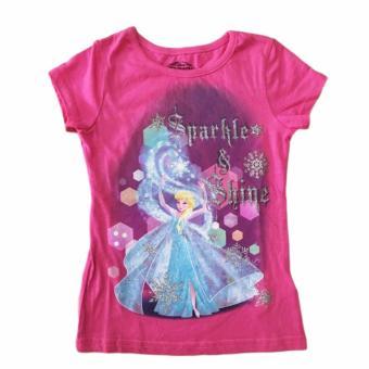 Áo thun tay ngắn bé gái Disney Frozen size 6