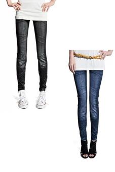 Bộ 2 quần legging Huy Kiệt HK96 (Đen và Xanh Đen)
