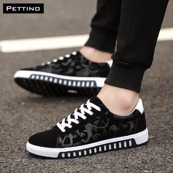 giày nam HOT 2017 - Pettino GV08 (đen)