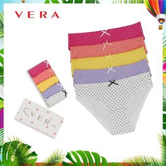 Combo 05 quần lót VERA Bikini 7168 Set 1 (Nhiều màu)