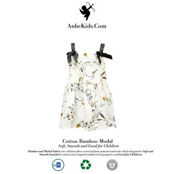 Baby White Strap Dress 94-98 cm