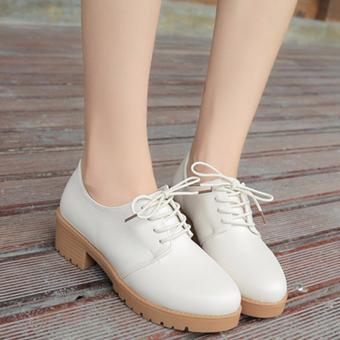 Giày bốt trắng thời trang (248Trắng)