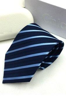 Cà vạt lụa TLG bản vừa 206009-3 (Xanh)