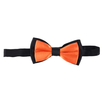 Kids Light Butterfly Cravat (Orange)