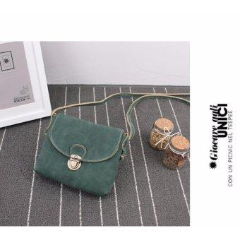 Túi xách đeo chéo mini BTS-Vendor2(xanh rêu)