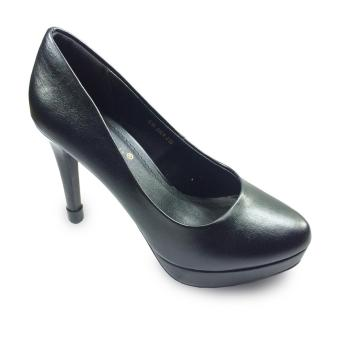 Giày bít nữ đúp mũi 12f
