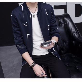 Áo khoác nam cực chất L&A fashion (Xanh tím than)