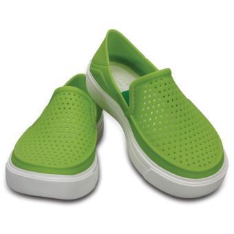 Giày lười & Giày mọi bé trai Crocs - 204026-59L - CitiLane Roka K Vib Vio (Xanh lá nhạt)