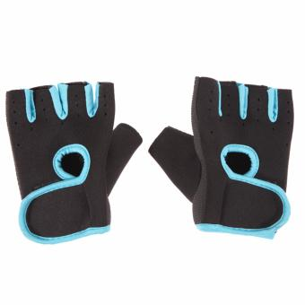Fitness Exercise Weight Lifting Gloves (Intl) - intl