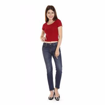 Quần Jeans Thun Cotton 16k Nữ Cotonfield