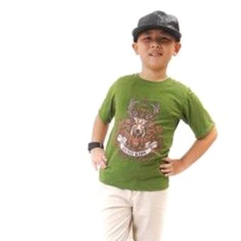 Áo Thun Bé Trai Genii Kids (Xanh lá cây)
