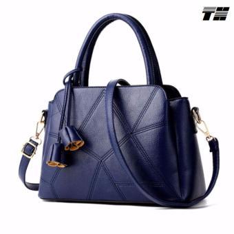 Túi xách tay thời trang màu xanh THTN74
