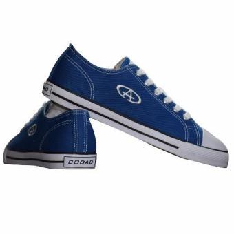 Giày Sneaker Nam Cổ Thấp CODAD CANVAS (Xanh Dương)
