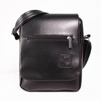 Túi đeo chéo Laka Chất Liệu simili cao cấp Màu Đen