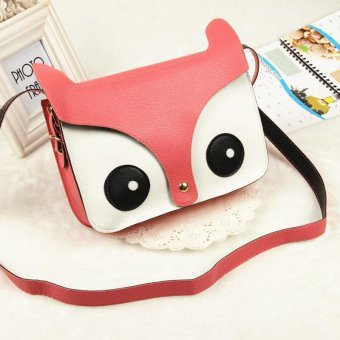 Cartoon Fox Handbags Girl Women Shoulder Bag Satchel Cross Body Bag - intl