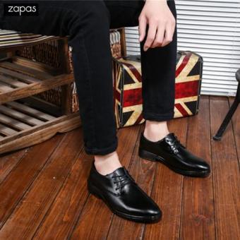 Giày Tây Nam Thời Trang Zapas - GT027 ( Đen )