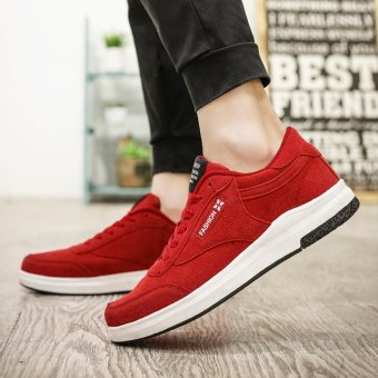 Jarma man's skate sneakers younger school shoes male shoes (Red) - intl