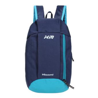 Woman Canvas Backpack (Dark Blue)