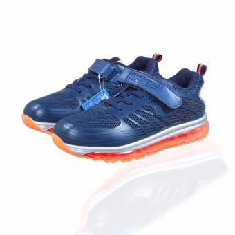 Giày thể thao bé trai Mickey S79088 từ 6-15 tuổi (tím than)