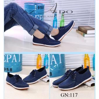 Giày Mọi vải GM017 , thời trang Azado