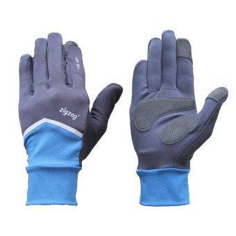 zigzag GLV01002- Găng tay Nonstop chống nắng UPF50+ (xanh đen)