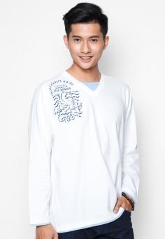 Áo phông OASIS Thái Lan MTXL662 (Trắng)