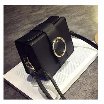 Túi xách thời trang khối vuông Lavan3-BTS(ĐEN)