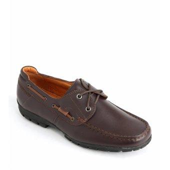 Giày nam HP04 - Nâu