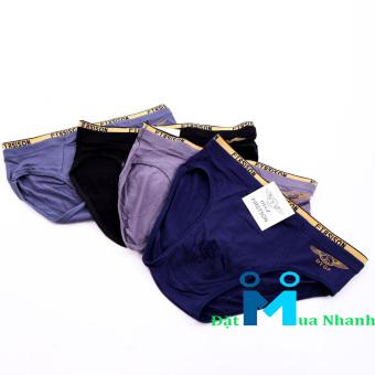 Bộ 4 quần lót nam FIRST SON siêu mịn F06
