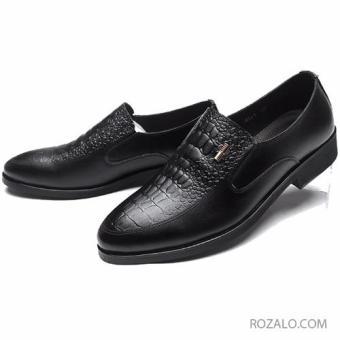 Giày tây nam cao cấp ZANI ZMG68861BL - Màu đen