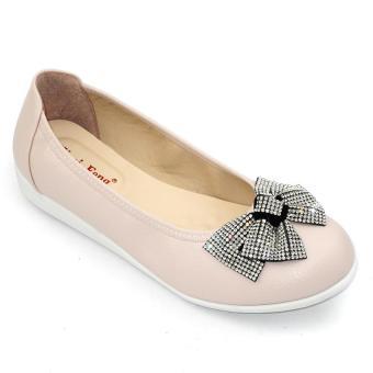 Giày mọi nữ Om Fashion 1217 (Hồng)