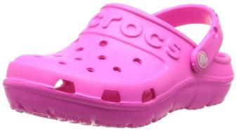 Xăng đan & Dép bé gái Crocs Swiftwater Clog K NMgta/Tng 202607-6V7 (Hồng)
