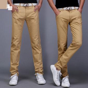 Quần nam kaki phong cách thời trang sành và sang - 130 (Vàng)