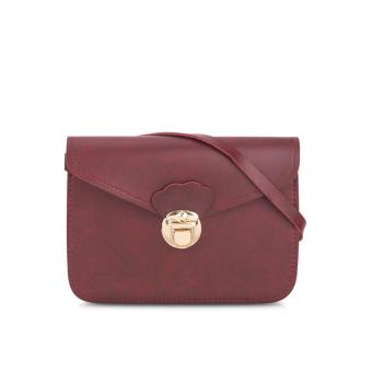 Túi đeo chéo tiện lợi đỏ đô MANA182