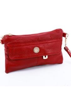 Túi đeo chéo da bò Victoria90 VT5488-2 (Đỏ)