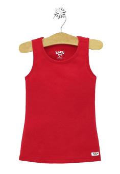 Áo thun sát nách Kavio Kids (Đỏ)