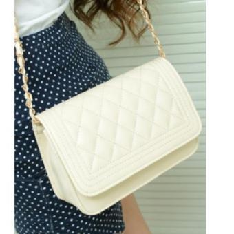Túi đeo vai nữ phong cách Hàn Quốc mẫu T28 trắng