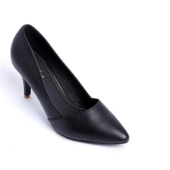 Giày cao gót SJ112 (Đen)