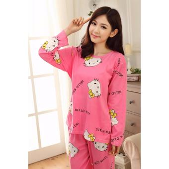 Đồ Mặc Nhà Đẹp Kitty - MS394 hồng