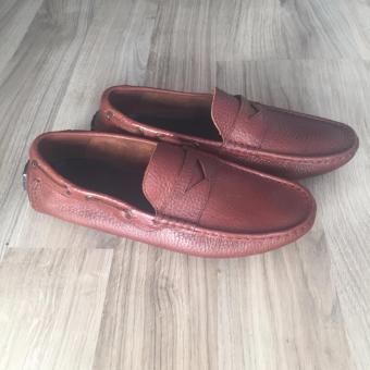 Giày Lười Công Sở Da Bò Cao Cấp LG165
