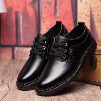 Giày bốt nam cổ thấp thời trang THGN04