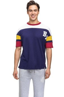 Bellfield Men's Baseball T-shirt Navy