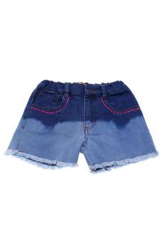 Quần short jean bé gái V.T.A.Kids BG50308 (Xanh)