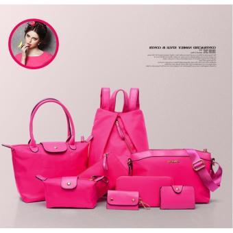 Túi xách, ví và balo 8 mẫu dành cho nữ CHODEAL24H (hồng)