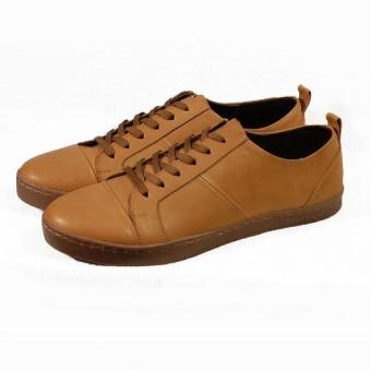 Sneakers cột dây Tathanium Footwear TFLTU3309 (Nâu)