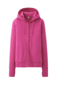Áo chống nắng cotton mềm mát (Hồng)