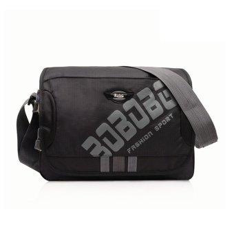 Túi Messenger Vải Oxford PRAZA DC052 (Đen)