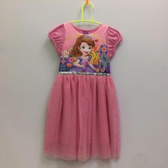 Đầm Bé Gái Disney Sofia Sfdr-0020